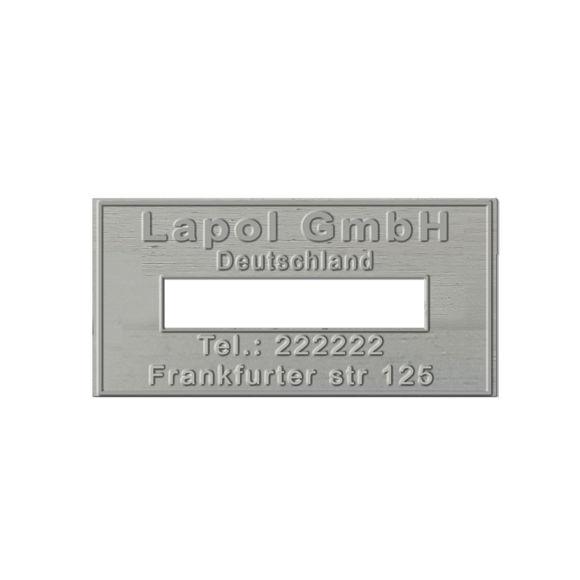 STEMPELPLATTE COLOP EXPERT LINE DATA 3360